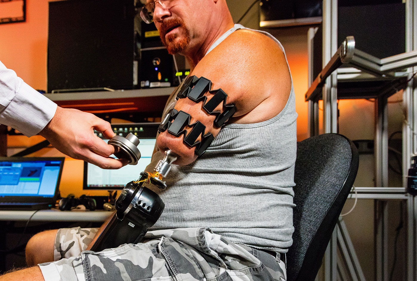 Researchers Use Myo Armbands To Control Prosthetic Arm