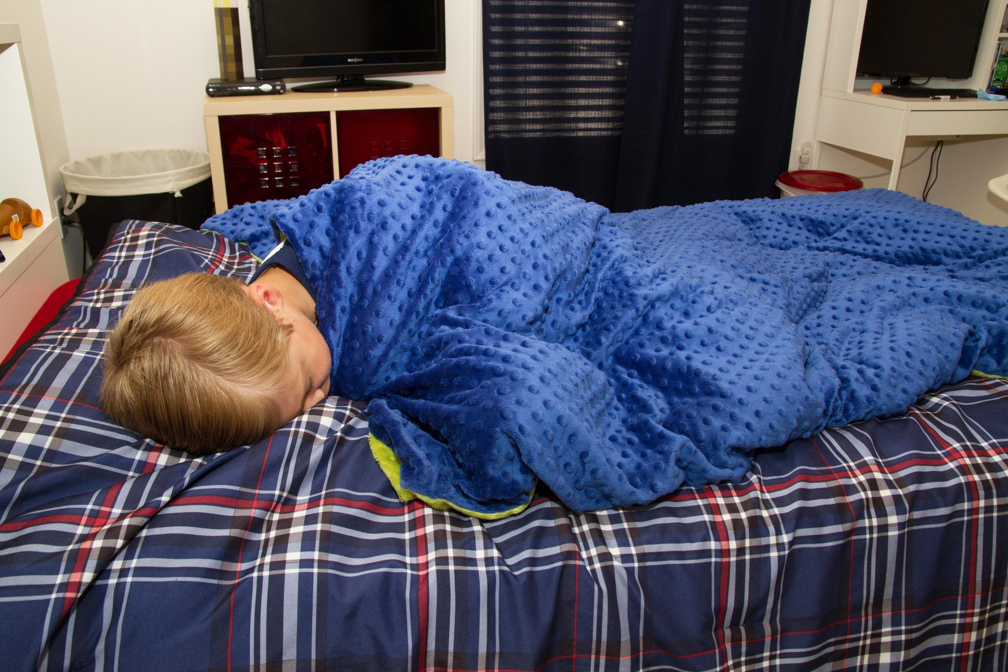 Harkla Weighted Blanket For Autism Anxiety Or Adhd