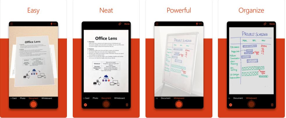 office lens pdf 保存